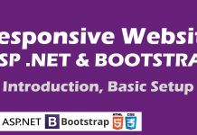 responsive website in asp net using bootstrap